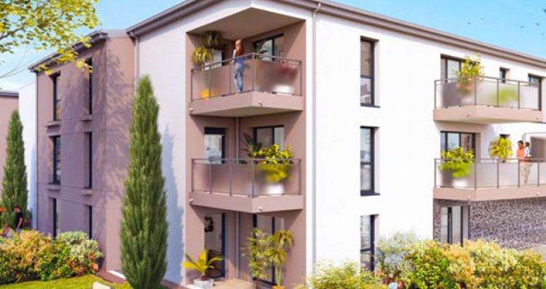 Achat / Vente programme immobilier neuf Saint-Nazaire calme et verdoyant (44600) - Réf. 3493