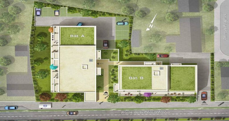 Achat / Vente programme immobilier neuf Saint-Nazaire proche du front de mer (44600) - Réf. 5165
