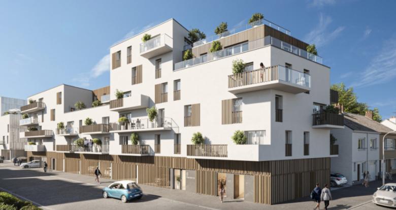 Achat / Vente programme immobilier neuf Saint-Nazaire proche du port (44600) - Réf. 5385
