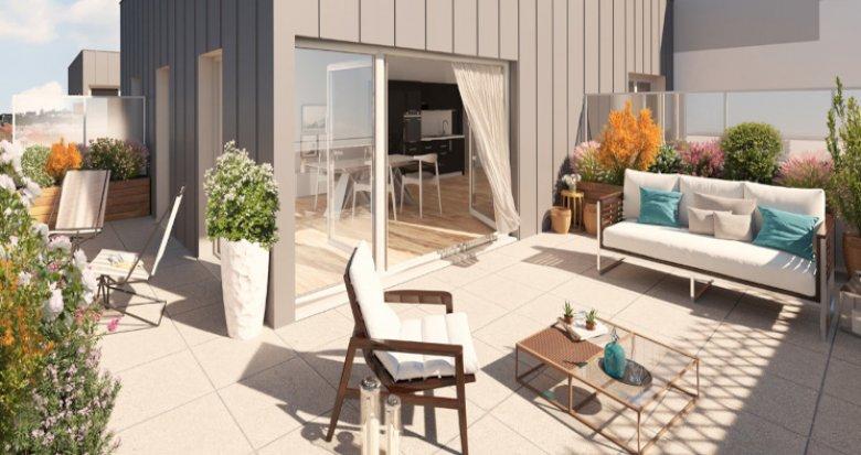 Achat / Vente programme immobilier neuf Saint Nazaire Proche Hôtel de ville (44600) - Réf. 5433