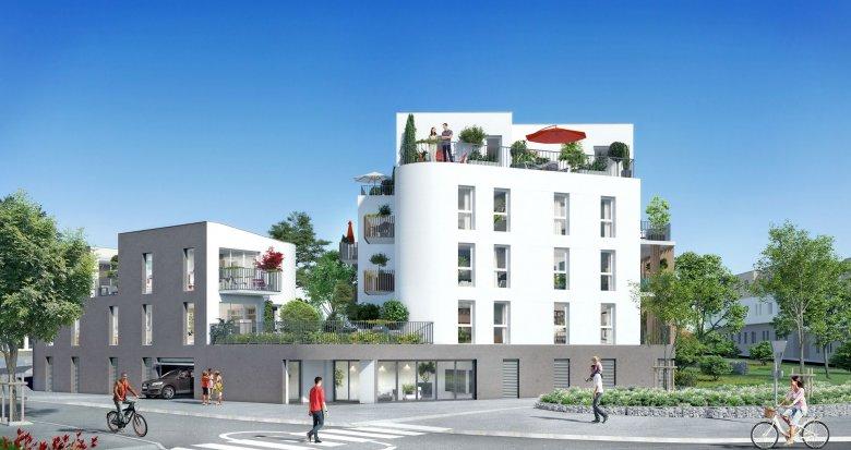 Achat / Vente programme immobilier neuf Saint-Nazaire proche plages et centre-ville (44600) - Réf. 1987
