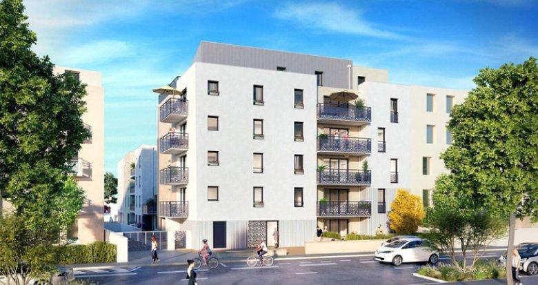 Achat / Vente programme immobilier neuf Saint-Nazaire quartier de la Vecquerie (44600) - Réf. 2701