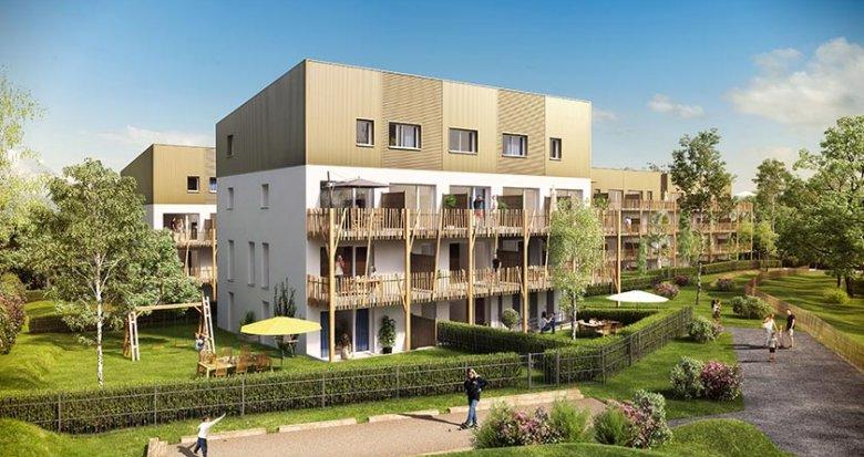 Achat / Vente programme immobilier neuf Saint-Nazaire quartier le Grand Gavy (44600) - Réf. 1738