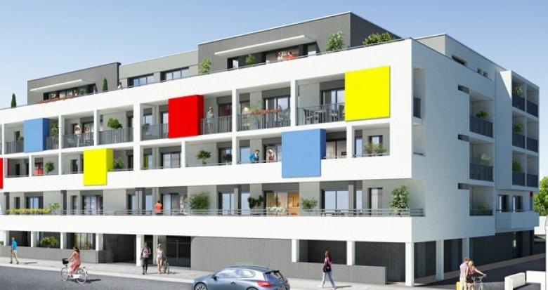 Achat / Vente programme immobilier neuf Saint-Nazaire résidence étudiante (44600) - Réf. 208