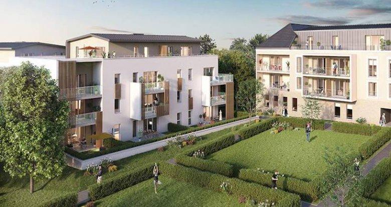 Achat / Vente programme immobilier neuf Saint Philbert de grand lieu au coeur du centre-ville (44310) - Réf. 4922