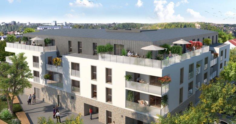 Achat / Vente programme immobilier neuf Saint-Sébastien proche Nantes (44230) - Réf. 3416
