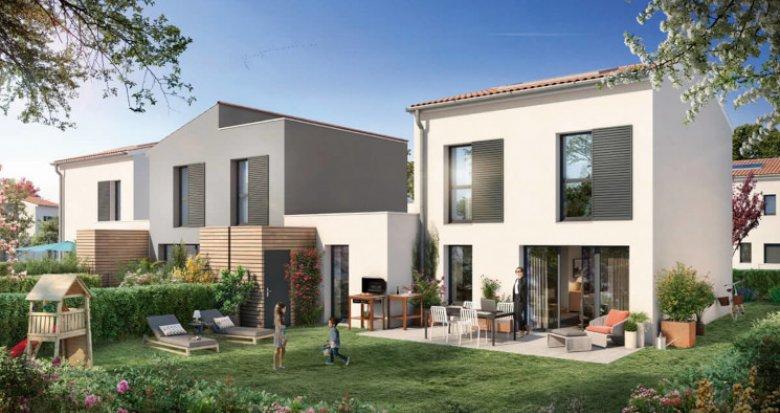 Achat / Vente programme immobilier neuf Saint-Sebastien-sur-Loire face au bois des Gripôts (44230) - Réf. 5249