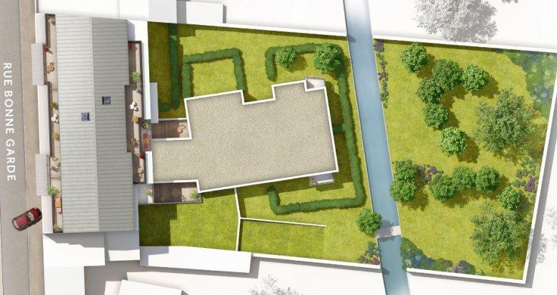 Achat / Vente programme immobilier neuf Saint-Sébastien-sur-Loire proche canaux de Sèvre (44230) - Réf. 1914