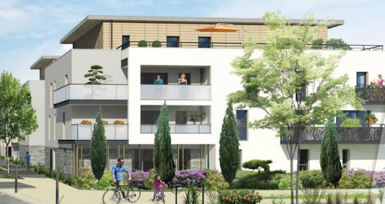 Achat / Vente programme immobilier neuf Sorinières à 10 minutes à pied des commodités (44840) - Réf. 4338