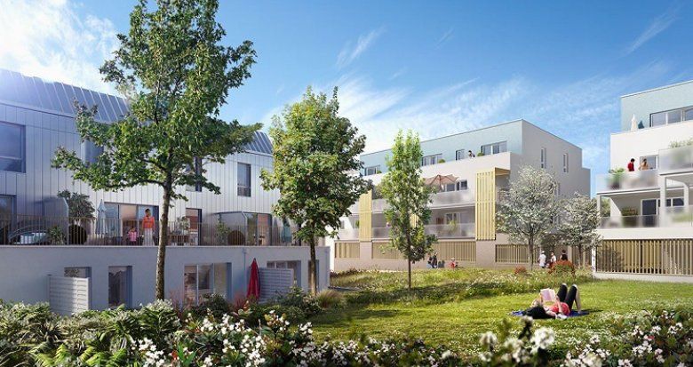 Achat / Vente programme immobilier neuf Thouaré-sur-Loire proche Chronobus (44470) - Réf. 1448
