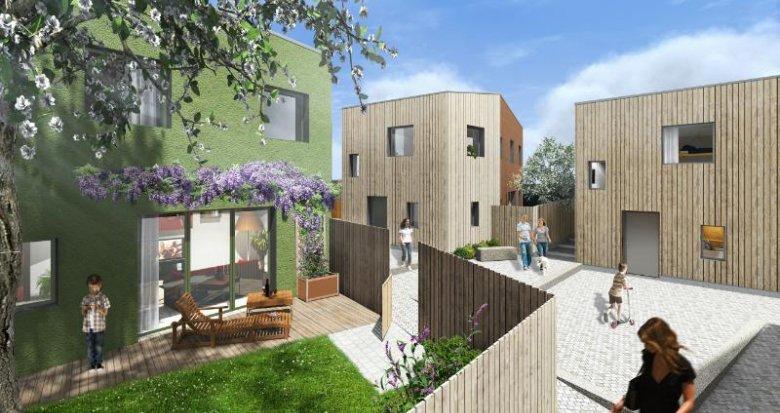 Achat / Vente programme immobilier neuf Treillières proche commerces (44119) - Réf. 449