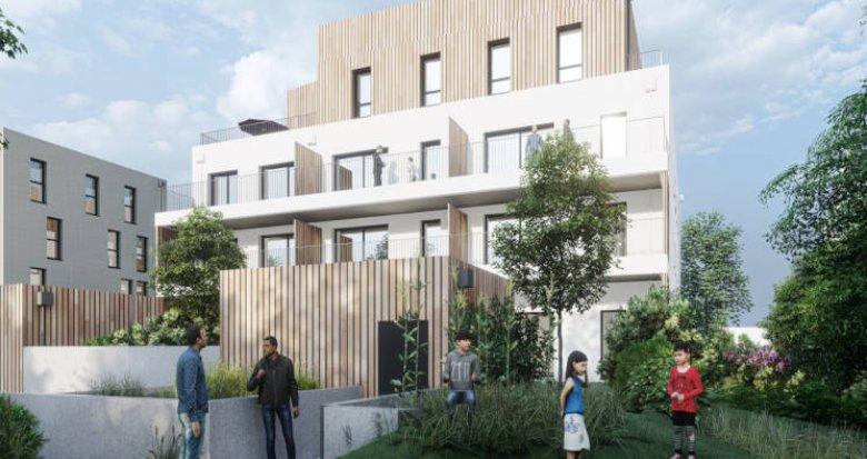 Achat / Vente programme immobilier neuf Vertou à quelques minutes de la Gare (44120) - Réf. 4313