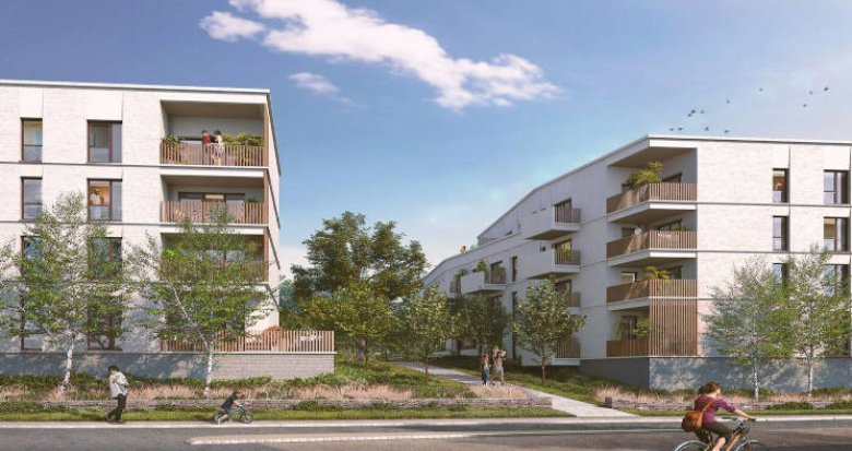 Achat / Vente programme immobilier neuf Vertou proche busway (44120) - Réf. 5936