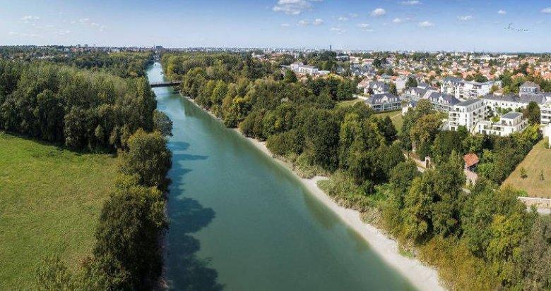 Achat / Vente programme immobilier neuf Vertou quartier Beautour proche Sèvre (44120) - Réf. 5284