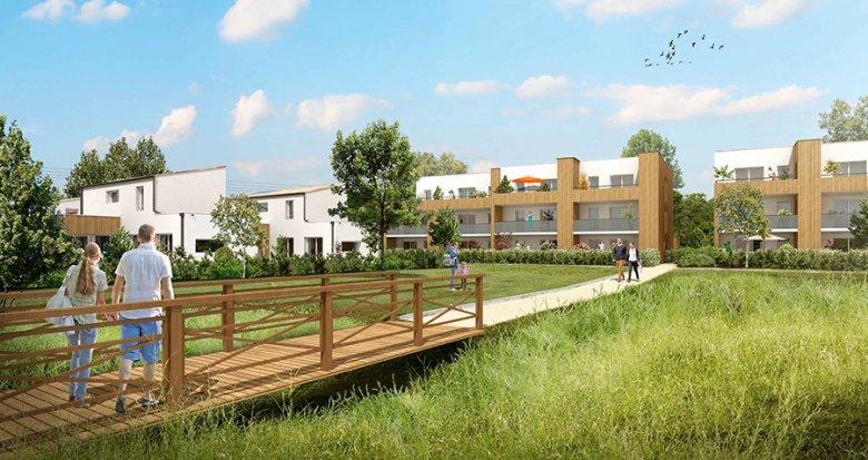 Achat / Vente programme immobilier neuf Vertou quartier du Planty (44120) - Réf. 207